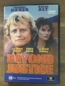 BEYOND JUSTICE DVD Rutger Hauer Movie 1992 Rare