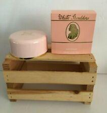 White Shoulders Bath Powder 2.6 Oz ~ New In Box