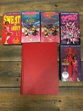 Lot 5 Richard Simmons VHS Tape Motivational Workout & Better Body Book