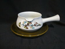 Denby SHAMROCK - Gravy Boat and Stand
