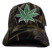 Camouflage Camo Weed Marijuana 420 Joint Blunt Pot Refer Hat Cap
