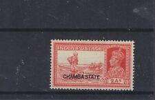India Convention States Chamba KGVI SG 86 Mounted Mint