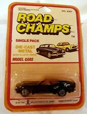 Yatming Road Champs #1024 BOSS Mustang Ford Black MOC 1/64 Scale