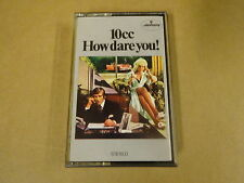 MUSIC CASSETTE / 10CC - HOW DARE YOU !