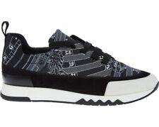 HERMES Paris Black Suede Trainers Sneakers - Made In Italy