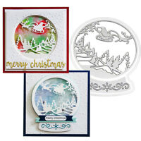 Santa Christmas Metal Cutting Dies for Craft Dies Scrapbooking Embossing Die