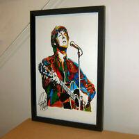 BEATLES Abbey Road Minimalist Music Poster Posteritty Minimal Lennon McCartney