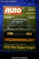Auto Zeitung 25/74 Ducati 860 GT die Super Ford Capri bis 438 PS