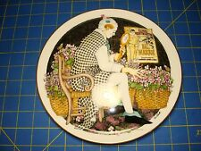 Royal Doulton Plate Behind The Painted Masque Make Me Laugh By Ben Black