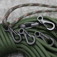 5pcs Mini Carabiner EDC Snap Spring Clips Hook Survival SF Keychain Pocket Tool