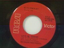 """ELVIS PRESLEY """"LOVE ME TENDER / ANYWAY YOU WANT ME"""" 45"""
