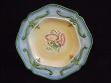 4 Fitz & Floyd Halcyon Floral Dinner Plates EXC
