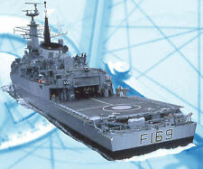 "Model Boat Plan Scale 1/96 48"" Radio control HMS Amazon Full Size Printed Plan"