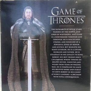 Game of Thrones Ned Stark Action Figure by Dark Horse Deluxe New Box Shelf Wear