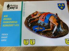 Gothica Arts 54mm - French Knight Horse - Agincourt 1415