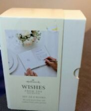 Hallmark Wedding Wishes From the Guests Set of 8 Books Great Gift Idea