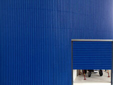 1:32 SCALE FARM DIORAMA BUILDING CORRUGATED CARD SHEET BLUE SUIT BRITAINS SIKU
