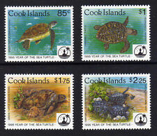 COOK IS.1995 SEA TURTLE SET SG 1382-1385 MNH.