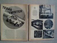 1965 CORVETTE TEXAS TWISTER RACE CAR **ORIGINAL ARTICLE