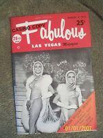 Fabulous Las Vegas Magazine Lost In Space Robot Elvis Susan Anton 8/11/1973
