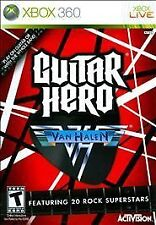 Brand New, Sealed in Package - Guitar Hero Van Halen Microsoft Xbox 360 (2009)