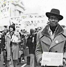 1978 civil rights orig. National Job March Washington Dc February 18, 1978 photo