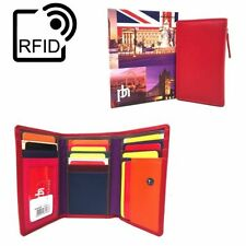 Trifold Purses & Wallets for Women with RFID Blocking