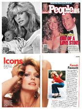 Farrah Fawcett HUGE collection - over 1800 photos clippings magazine articles V1