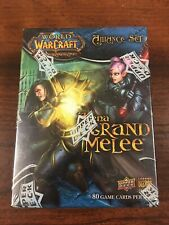 WOW World Of Warcraft TCG Arena Grand Melee Horde Alliance Set New SEALED