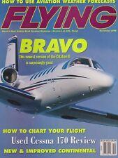 Flying Magazine (Nov 1999) (Citation II Bravo, Cessna 170, Continental Engines)