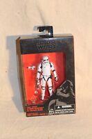 "Star Wars The Black Series Walmart Exclusive First Order Stormtrooper 3.75"" New"