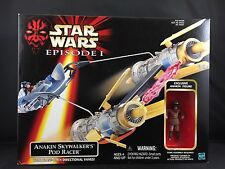 NEW Star Wars Episode 1 Anakin Skywalker's Pod Racer Vehicle Action Figure I