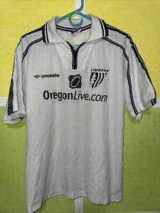 Rare Vtg PORTLAND TIMBERS USL Pre MLS soccer jersey Umbro m