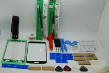 Samsung Galaxy S6 SM-G920F Black Front Glass, Screen Repair Kit, Loca Glue,Torch