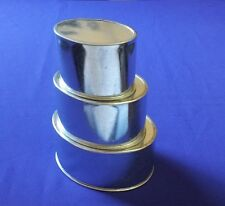 Mini Oval Baking Tins - Ideal for Mini Cakes