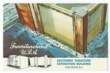 Postcard Southern Furniture Exposition Building, High Point, N.C.