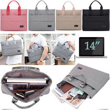 """14"""" Inch Laptop Notebook With Handles & Sleeve Zip Carrying Bag Case Cover Pouch"""