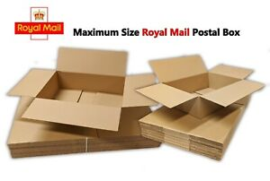 ROYAL MAIL Maximum Small Parcel Postal Mailing Box *450mm x 350mm x 160mm*