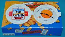swatch breakfast watches 1996 unused 2 set