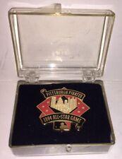 "1994 All Star Baseball Game Pittsburgh Pirates Press Pin Balfour 1.5"" New"