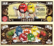 The M & M Characters Million Dollar Novelty Money