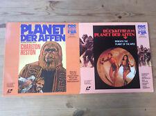 2 LaserDisc  PLANET DER AFFEN + RÜCKKEHR ZUM PLANET DER AFFEN