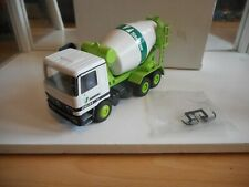 "Conrad Mercedes Actros Cement Truck ""Schwing / Stetter"" in White on 1:50 in Box"