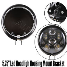 """5 3/4"""" 5.75 Inch Daymaker Led Headlight Housing for Harley Motorcycles"""