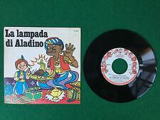 Disco Vinile 45 Giri 7'' (Italy 1970) FIABE CELEBRI - LA LAMPADA DI ALADINO