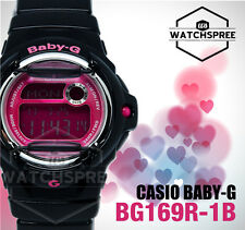 Casio Baby-G Alarm Ladies Sport Watch BG169R-1B AU FAST & FREE*