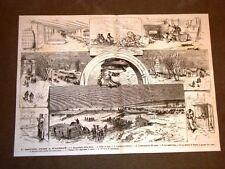 Guerra in Russia nel 1877 Esercito russo Kisceneff Slitta Panettieri Cattedrale