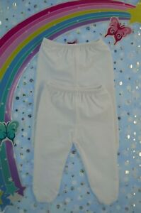 """Play n Wear Dolls Clothes For 16"""" Cabbage Patch 2X LYCRA WHITE TIGHTS"""