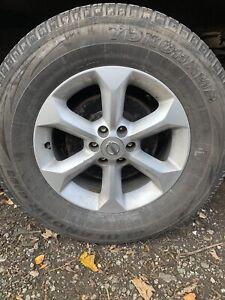 nissan navara alloy wheels 265/65/17 X4