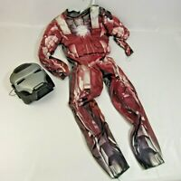 Iron Man 2 Halloween Costume Youth Size M 7-8 Padded Suit with Mask Marvel Comic